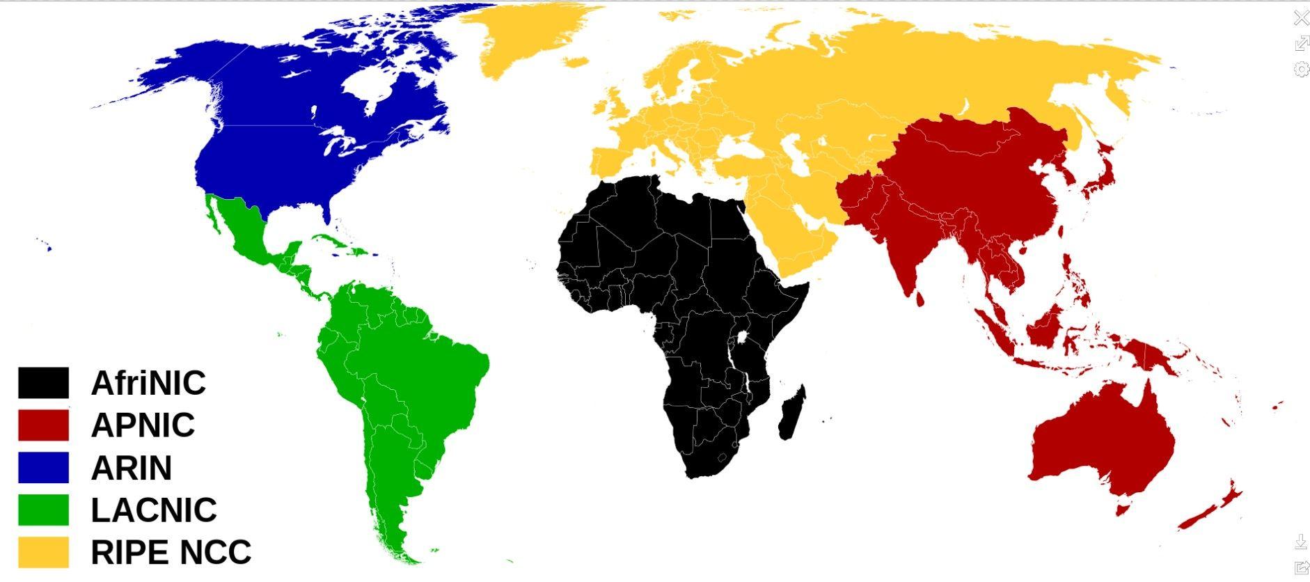 RIR (Regional Internet Registry)