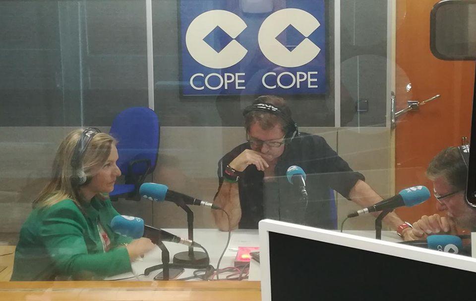 Grabación del programa 'Buenas tardes Málaga', en el que intervinieron CCA y Payresa