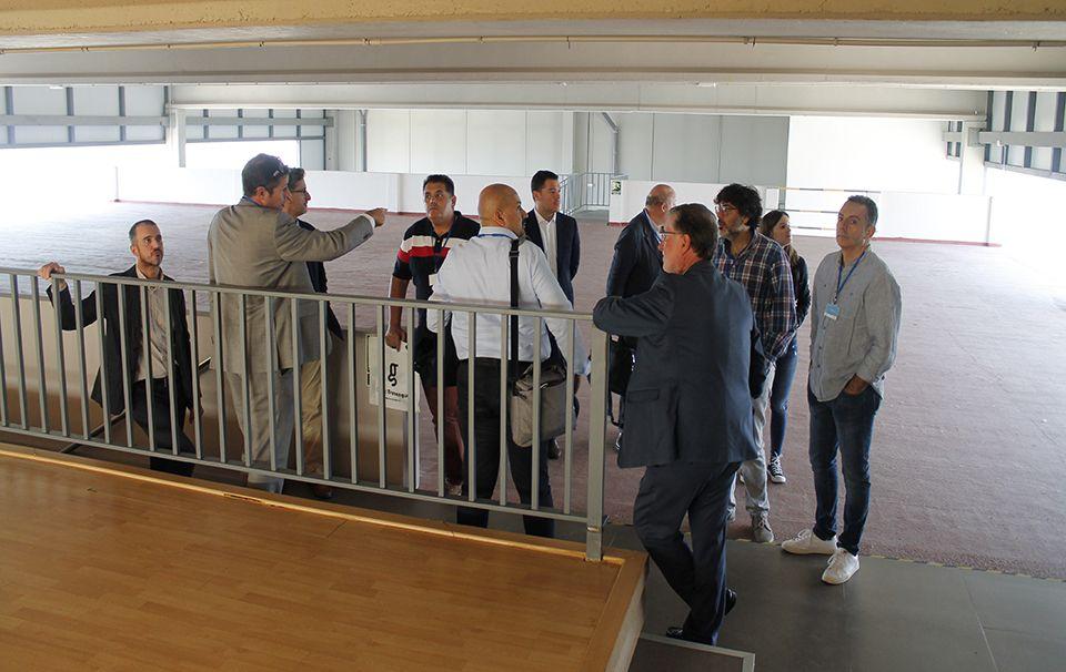 Visita a Cloud Center Andalucía de representantes de empresas granadinas y malagueñas