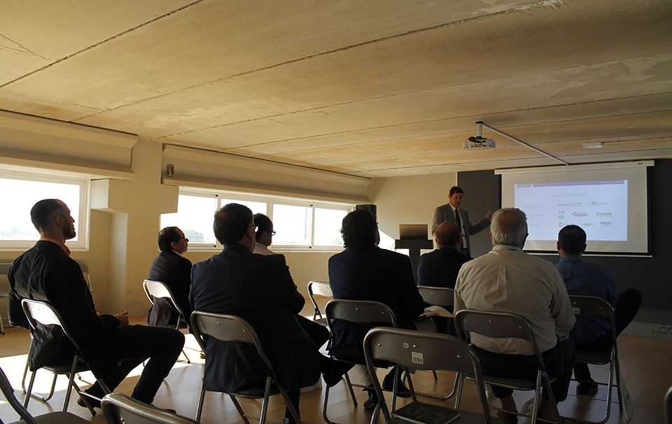 Visita de varias empresas malagueñas a Cloud Center Andalucía