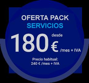 Oferta pack servicios teletrabajo